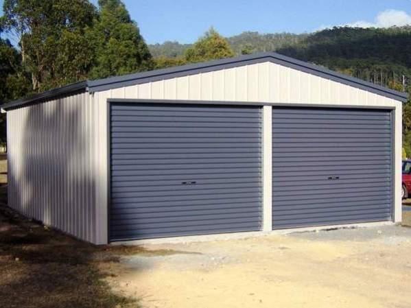 Габариты стандартного гаража