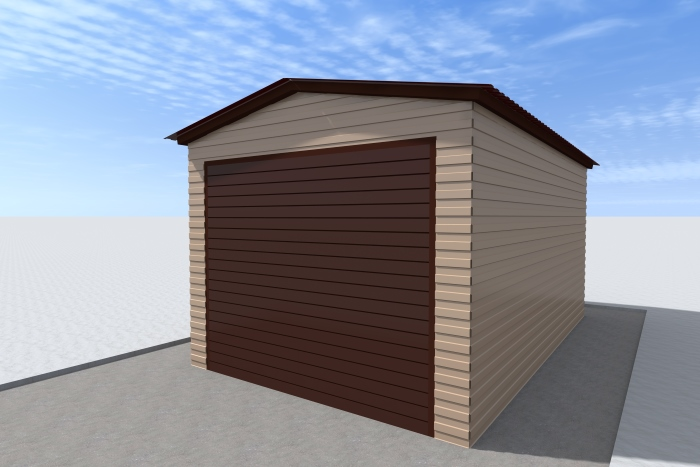 Сколько весит металлический гараж 3х6